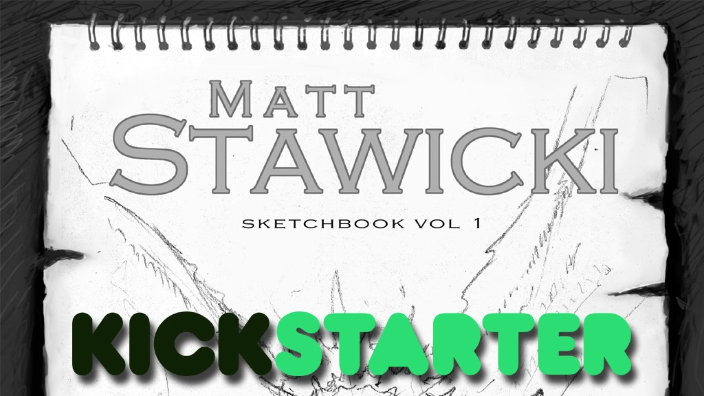 Matt Stawicki Sketchbook Volume 1 project video thumbnail