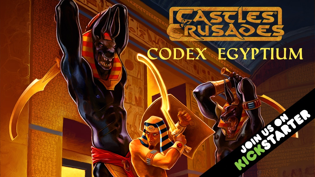 Castles & Crusades Codex Egyptium project video thumbnail
