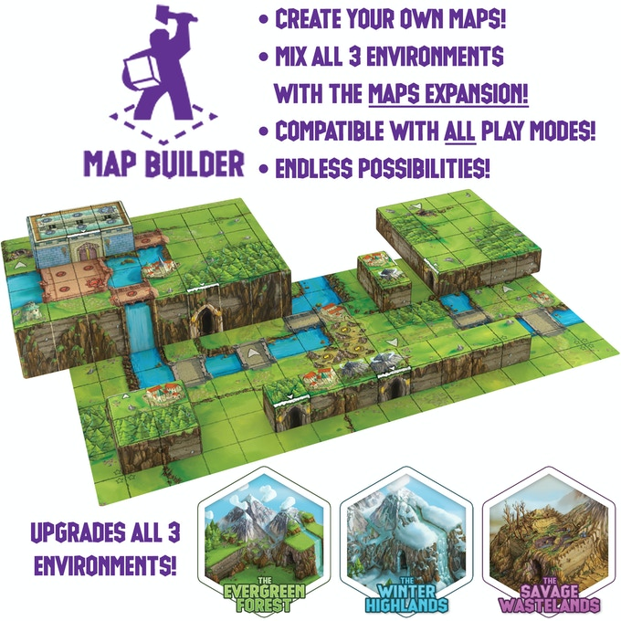 NOTE: the scroll in this image is NOT what the reverse side of the scroll will look like. It will have a different layout, designed more to favor map building.