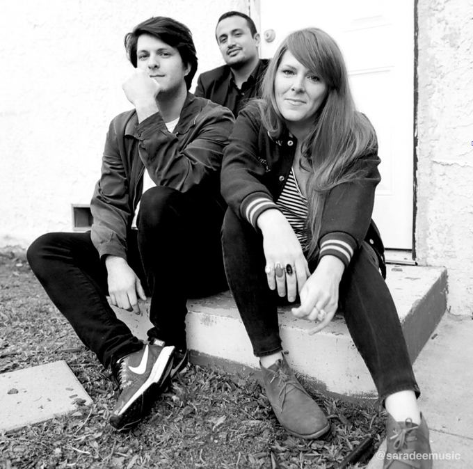 Photo by Angelica Monroy. L to R: Harry, Nick, Sara.
