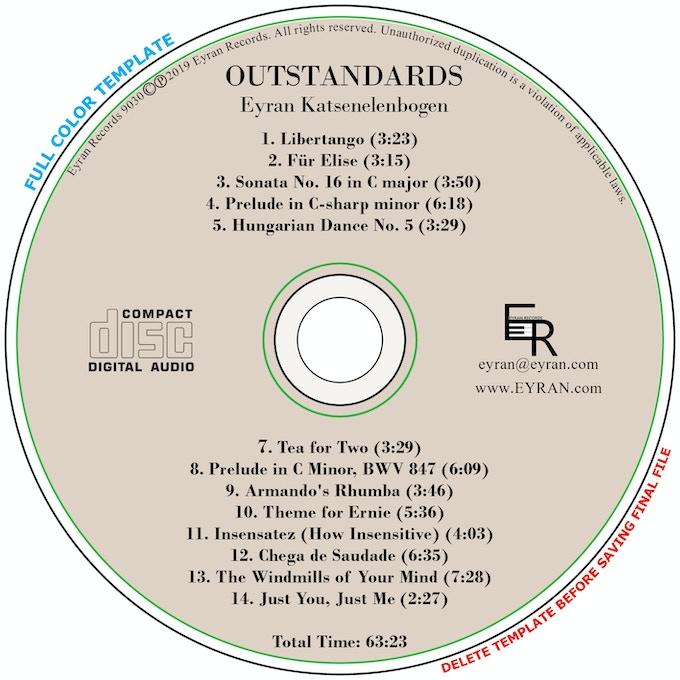 Outstandards CD Face