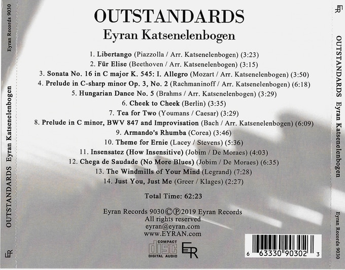 Outstandards Tray Card