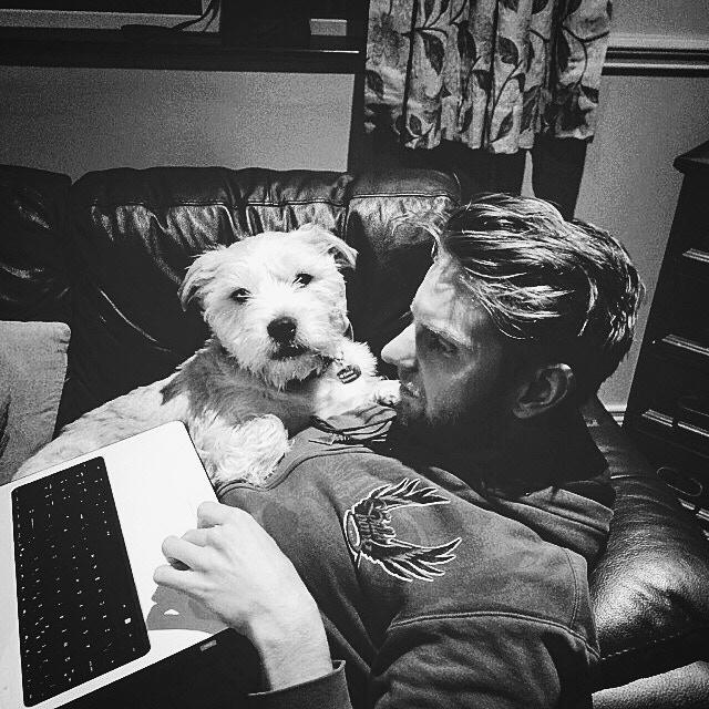 Roddy and his loyal companion - Benji