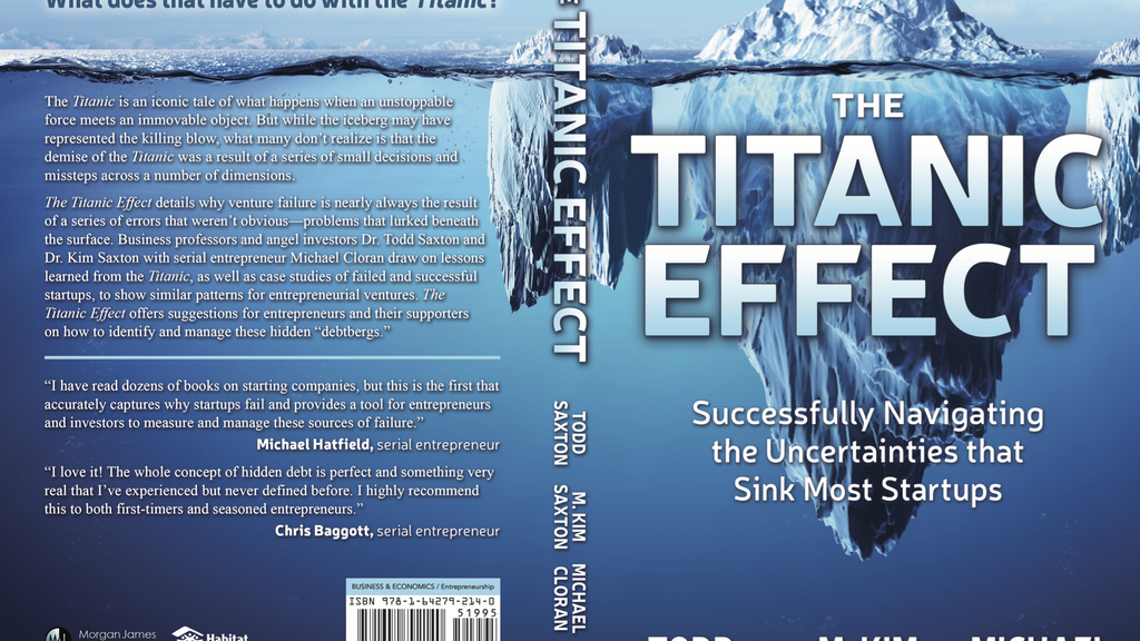 The Titanic Effect Book: project video thumbnail