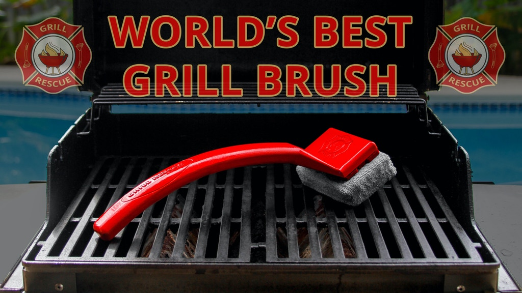 Grill Rescue - The World's Best Grill Brush project video thumbnail