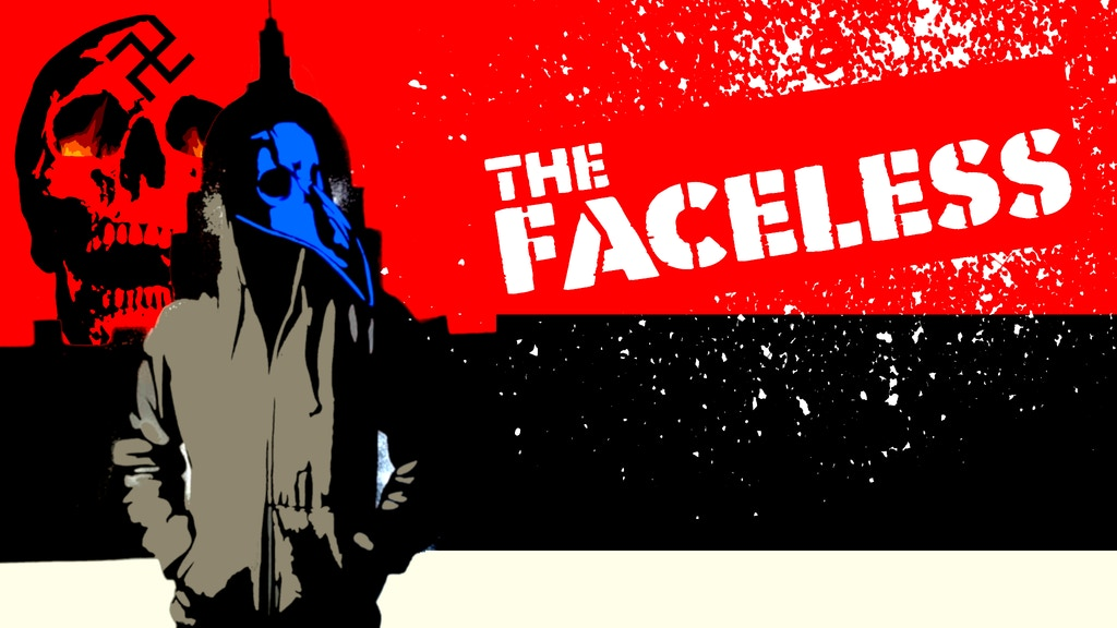 THE FACELESS- World's First Spray Painted Comic Book project video thumbnail