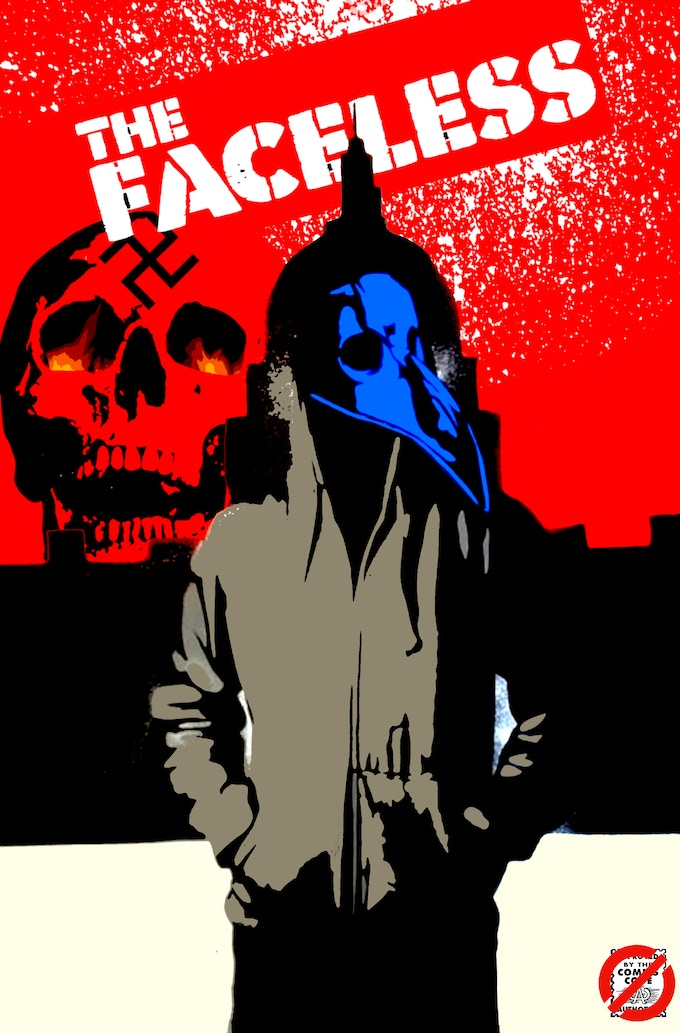 The Faceless #1 Cover