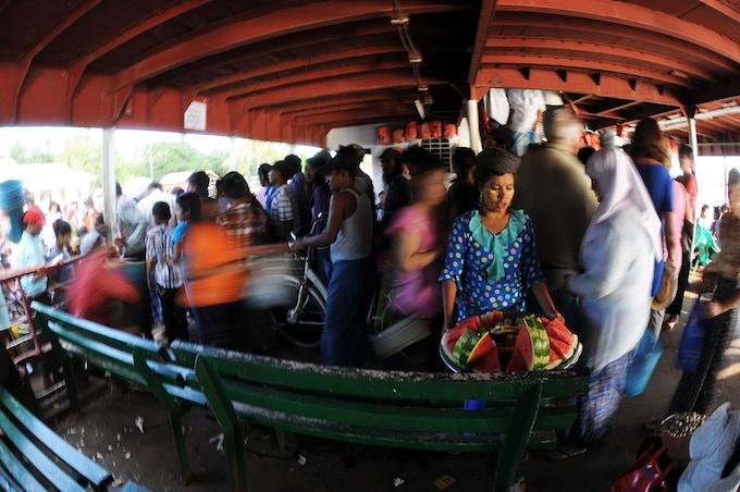 Yangon - Irrawaddy River Ferry