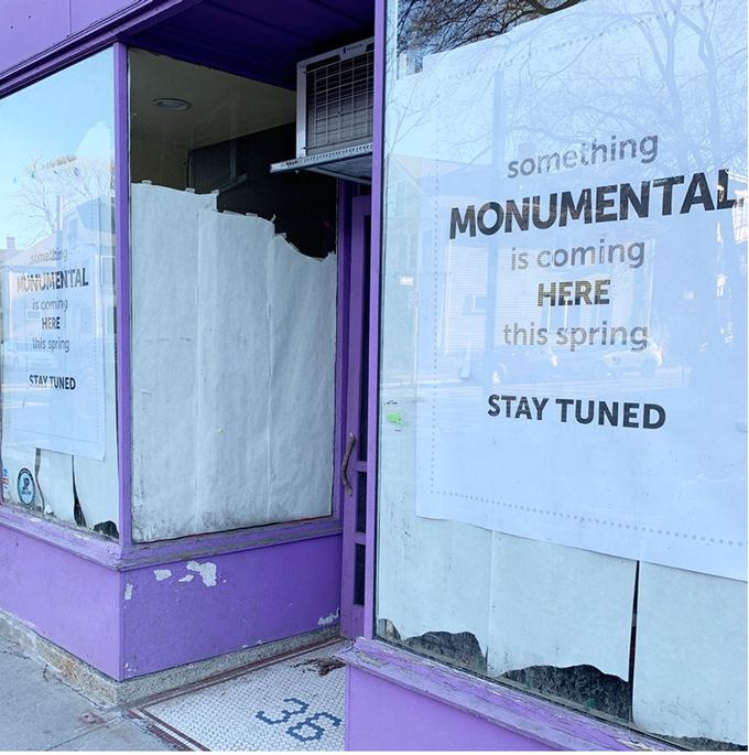 Something Monumental IS Coming...We Can't Wait to Open Our Doors and Meet You!