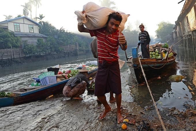 Mrauk U - Rakhine State