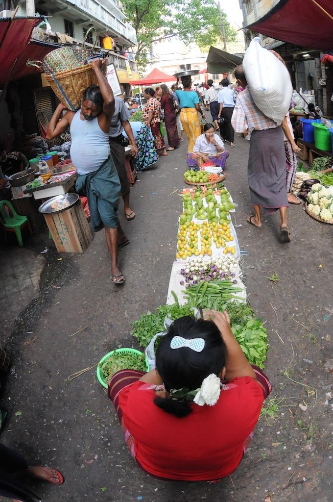 Yangon - Morning Market