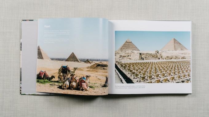 The Great Pyramids of Giza near Cairo, Egypt