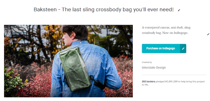 STORIO - A super functional cool canvas backpack. by Interstate ... e016709e62d12