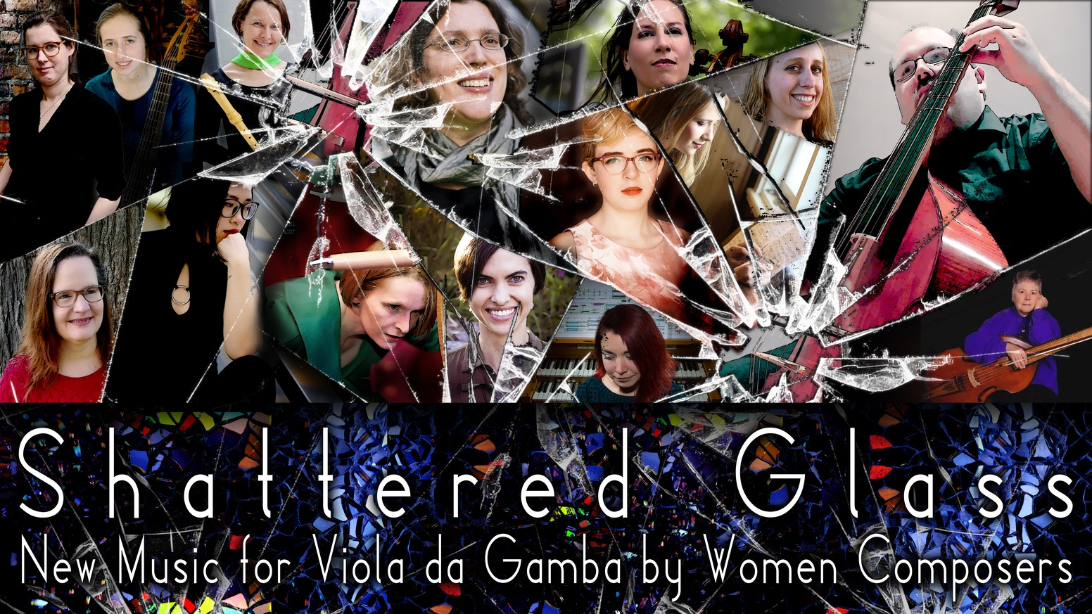 Shattered Glassis a New Music recording featuring bySarah Angliss, Martha Bishop, Eliza Brown, Alice Chance, Emily Doolittle, Lynn Gumert, Helen He, Malina Rauschenfels, Lauren Redhead,Rebecca Rowe,Heather Spence & Patricia Wallinga.