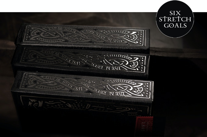 Six stretch goals have now been unlocked for Helheim Playing Cards!
