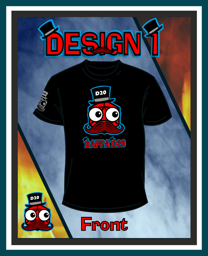 Design 1 Male Front
