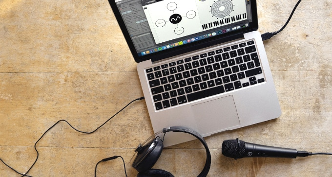 All you need to make music is a computer, a DAW, headphones and Dubler Studio Kit.