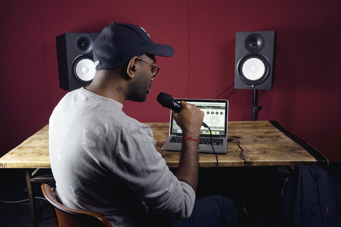 Use it in the studio with your monitors to get instant feedback on your musical ideas.