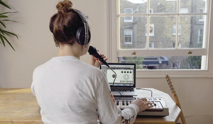 Dubler Studio Kit set-up at home