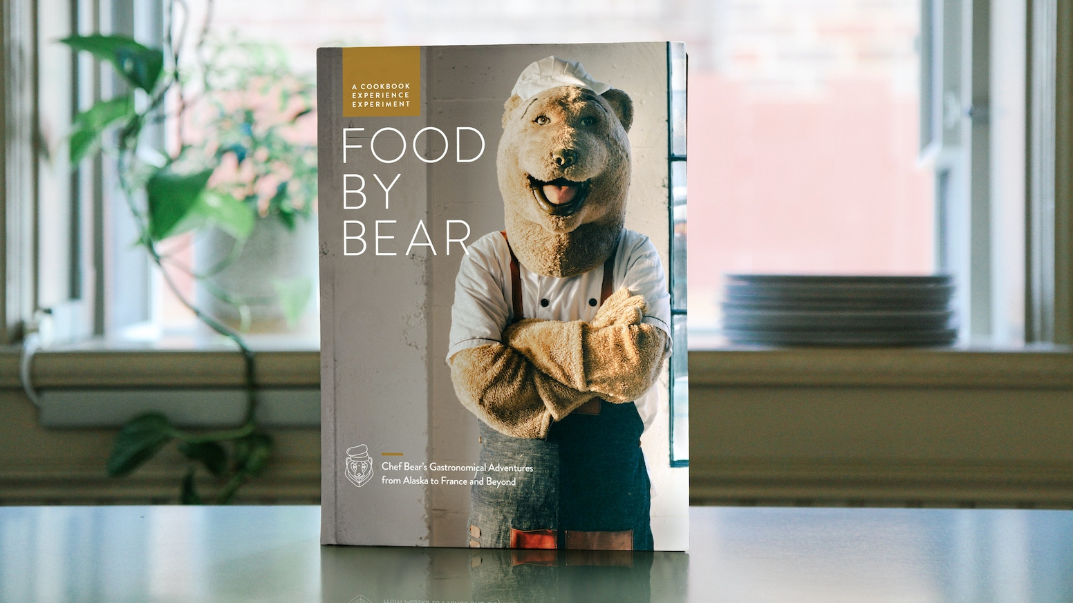 The first eating manual from Cow by Bear, featuring recipes, advice and inspired stories from Chef Bear.