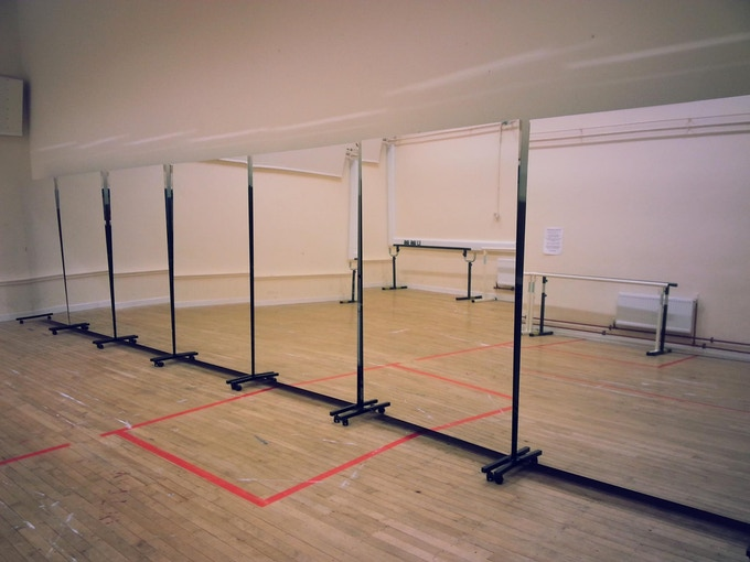 Your support is needed to buy five new mirrors for the new ISM dance school