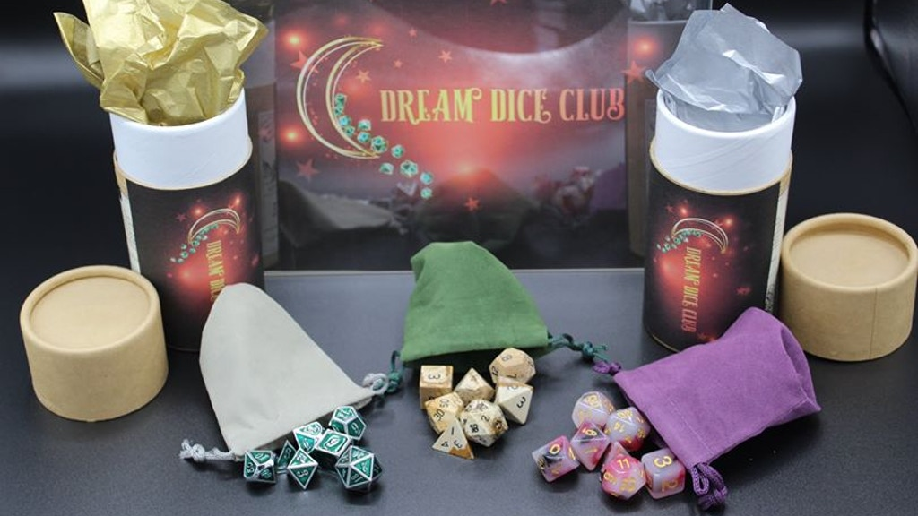 Project image for Dream Dice Club- A community of dice lovers (Suspended)