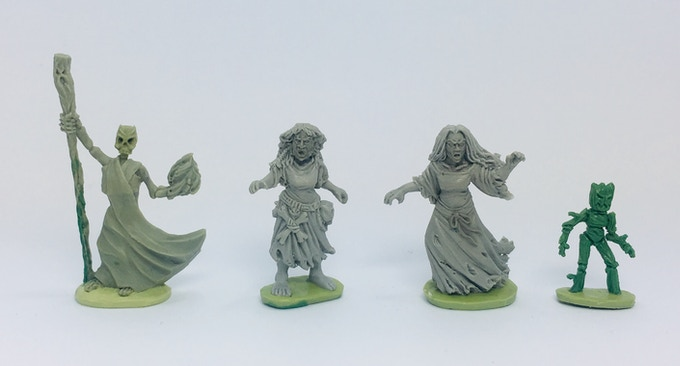 Demon, Forest hag, Banshee, Twig Golem