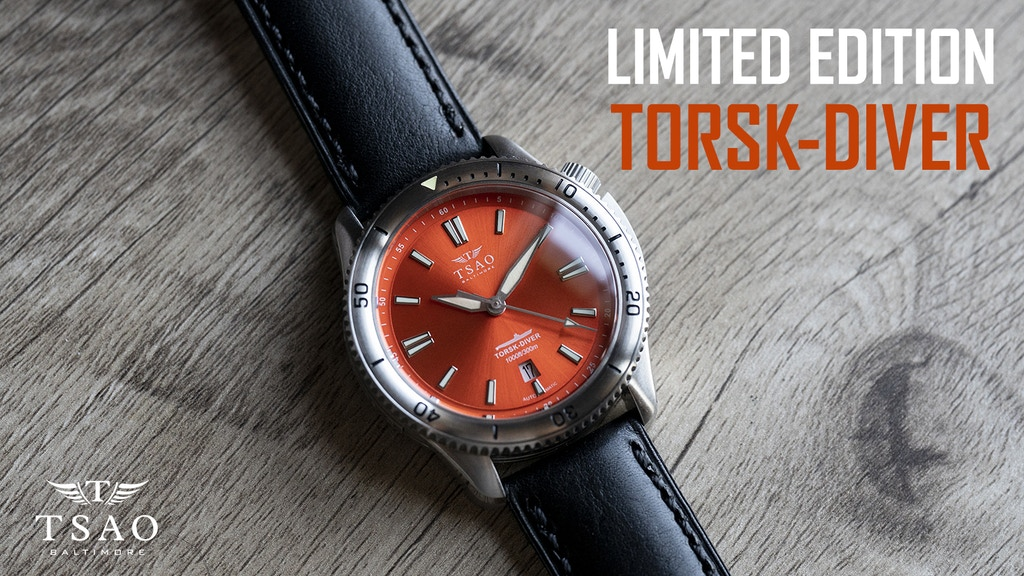 AUTOMATIC DIVE WATCH - LIMITED EDITION TORSK-DIVER project video thumbnail