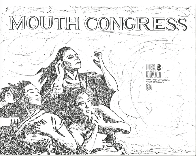 Mouth Congress poster from 1986