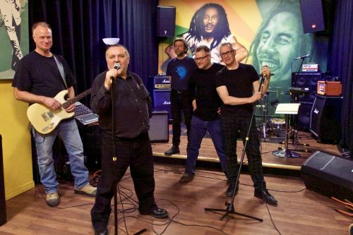 In rehearsal, January 2016.
