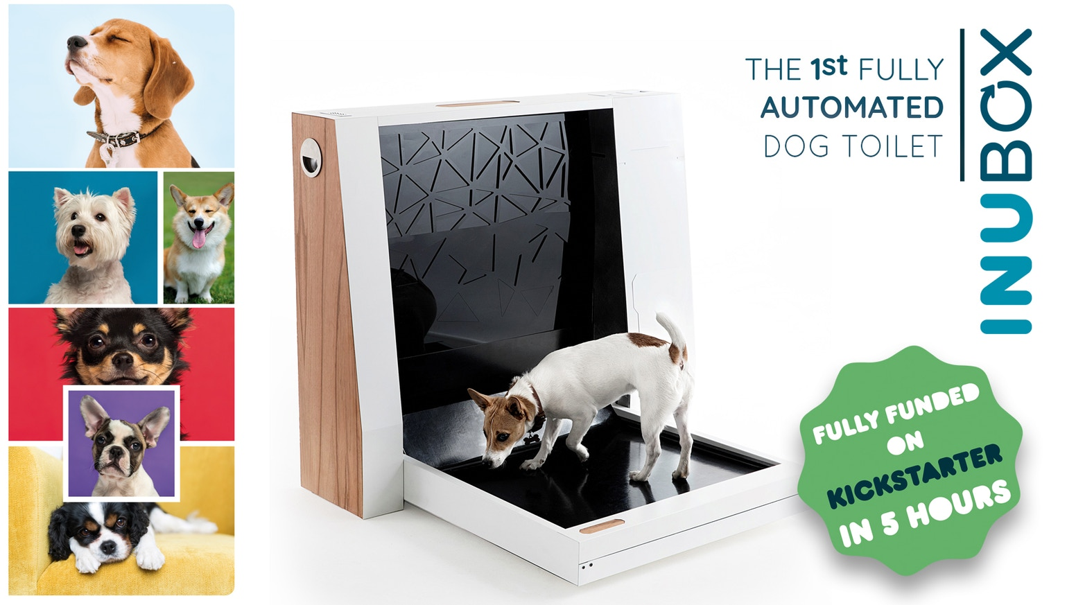 A revolutionary station that captures, processes and contains liquid and solid dog waste.