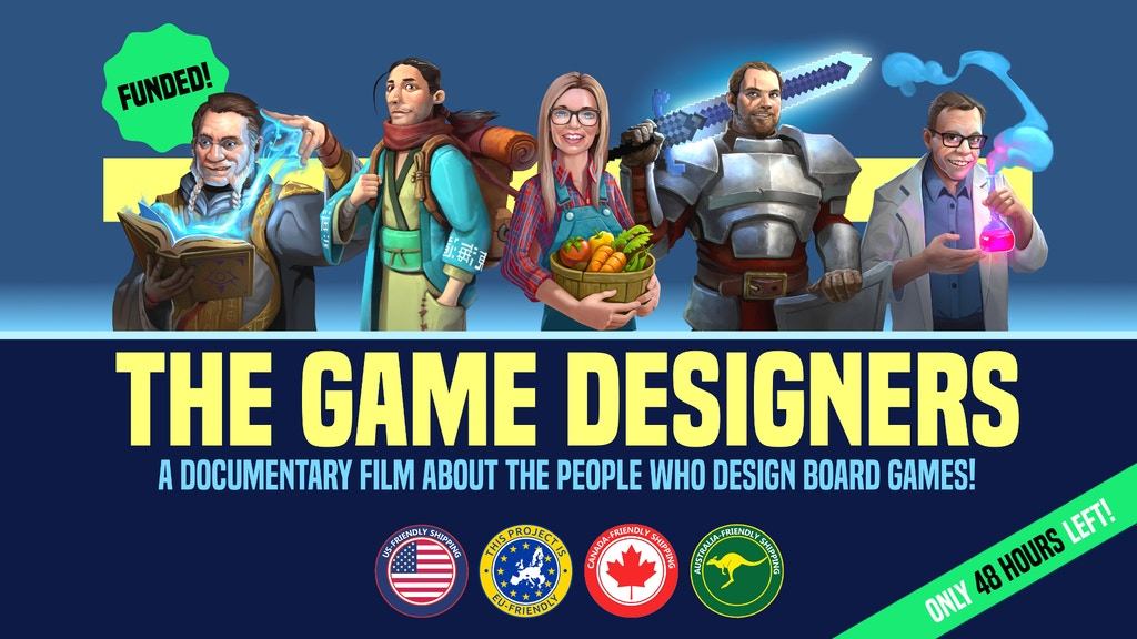 The Game Designers project video thumbnail