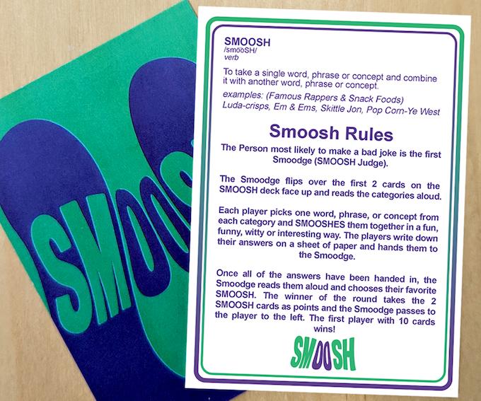 SMOOSH - Rules