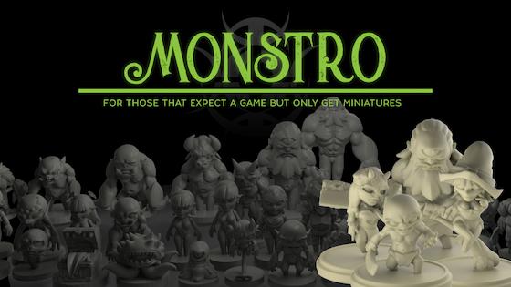 Monstro By Jin Lee Kickstarter