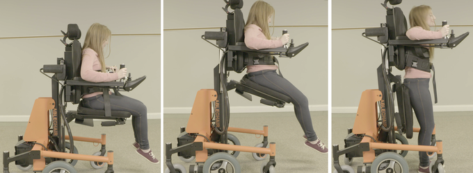 AbleChair Sit to Stand Function