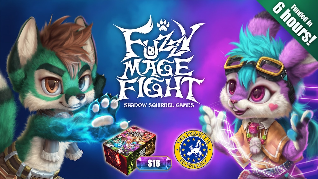 Fuzzy Mage Fight project video thumbnail