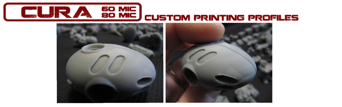 Test-Print shown using 60mic Profile w/ .4mm nozzle, no supports in ABS on a Creality CR-20.