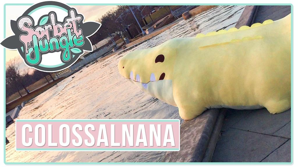 Colossalnana, the gigantic Croconana! project video thumbnail