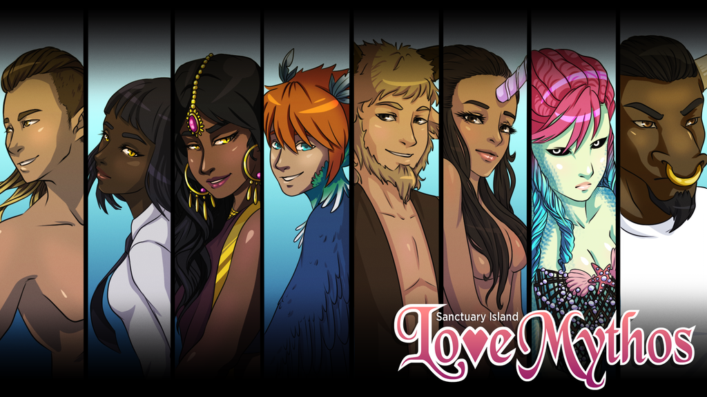 Love Mythos: Sanctuary Island, a Mythological Visual Novel project video thumbnail