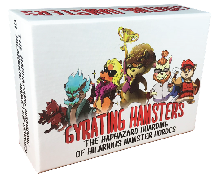 Grow your Hamster Horde faster than your opponents and battle your way to victory in this fast-paced, highly interactive card game.