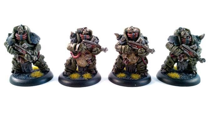 4 deamonic troopers-20$