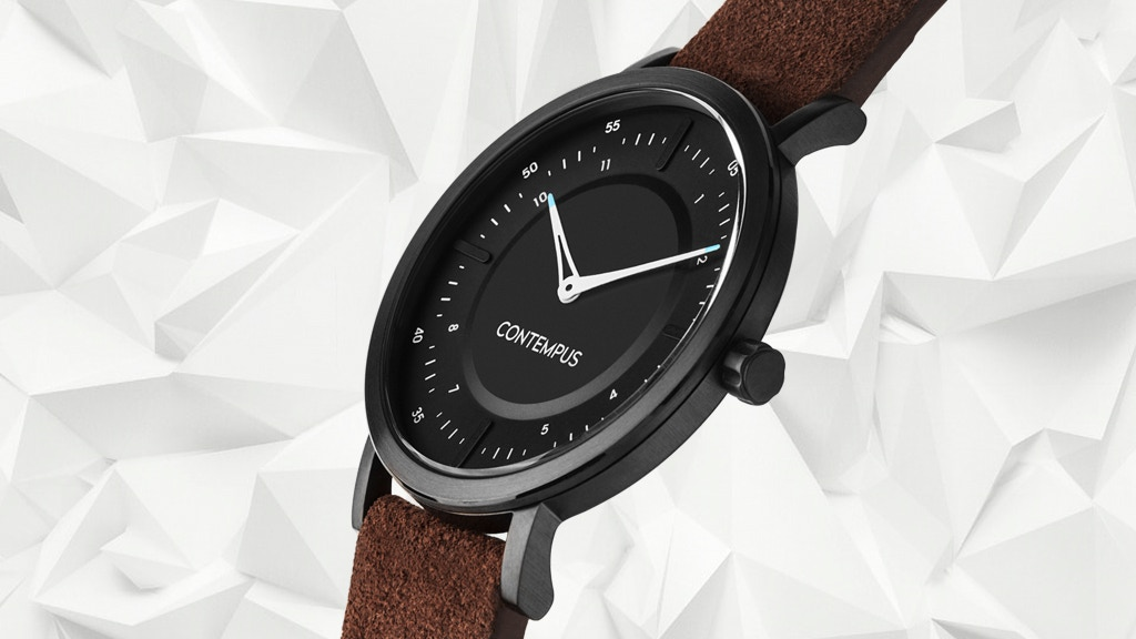 Contempus — the watch for design and architecture lovers. project video thumbnail