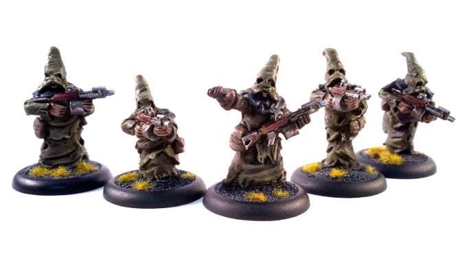 Cultist troops with their machine guns-20$ addon