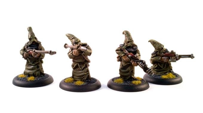 The special weapon team, cultists armed with long range rifles, a missile launcher and other weapons-16$ addon