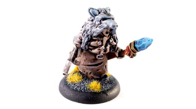 The shaman wiseman, guide of the Wolfskins-6$
