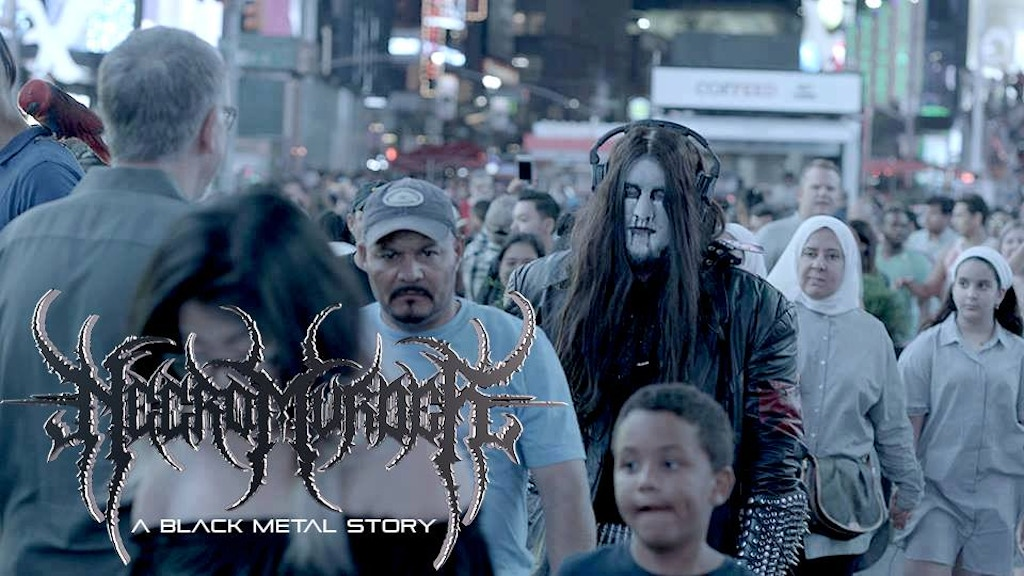 Project image for NECROMURDER: A Black Metal Movie FUNDRAISER