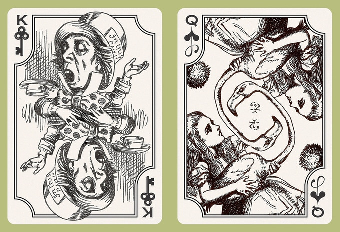 "from ""The Wonderland Deck"""