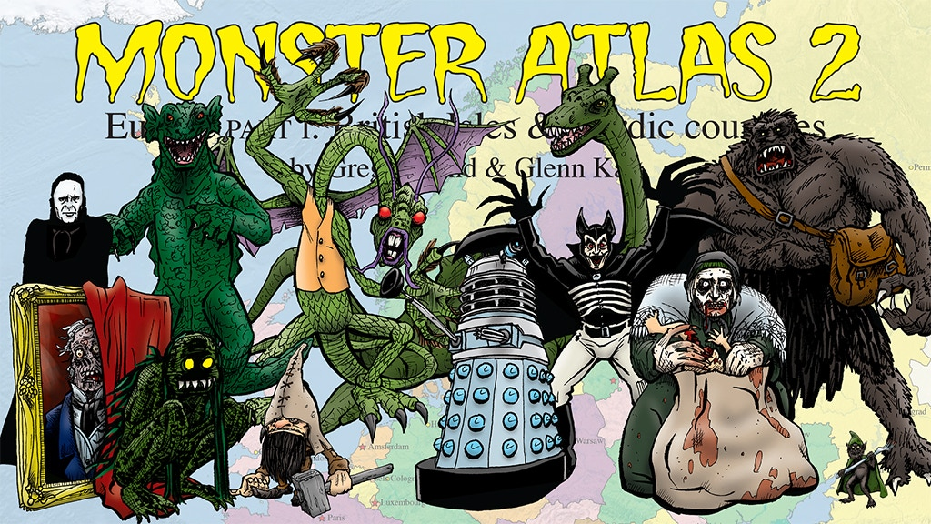 Monster Atlas volume 2: British Isles & Nordic countries project video thumbnail