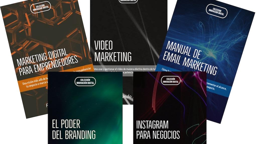 Project image for Colección de Manuales de Bolsillo de Marketing Digital.