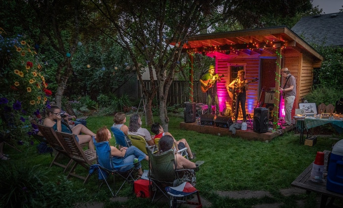Each House Concert is as unique as its host !